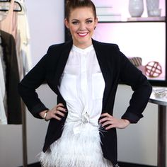 DIY: Make Your Own Feathered Skirt! #flamingo