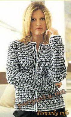 Куртка (ж) 743 Creations 2004/05 Bergere de France №2929