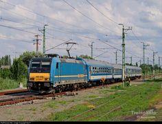 RailPictures.Net Photo: 008 Hungarian State Railways (MÁV) 480 / TRAXX at Békéscsaba, Hungary by Sly77