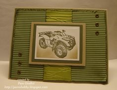 masculine birthday by pamshobby - Cards and Paper Crafts at Splitcoaststampers
