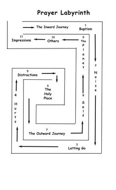 Prayer Labyrinth | few weeks we are going to take a journey through a prayer labyrinth ...