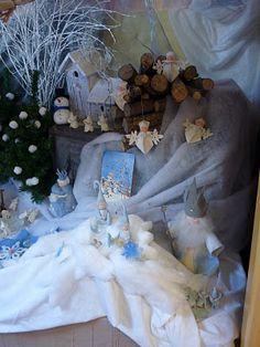 Ingrids creaties .: Winter nature table