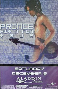 Prince 20Ten Tour - 2010  Let's take it to the stage! — The…