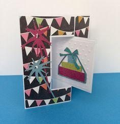 Birthday Gift Card Holder by Overthetopcards on Etsy