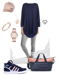 """""""Post Pilates..."""" by thefoldednote-lwoods on Polyvore featuring Aéropostale, adidas, Marc by Marc Jacobs, CC SKYE, Kate Spade, Billabong, women's clothing, women's fashion, women and female"""