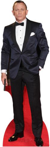 Daniel Craig Lifesize Standup Poster.....want to buy this then have friends get their pics with it :)