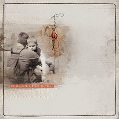 Story to Tell by beszteri | created using Anna Aspnes' kits