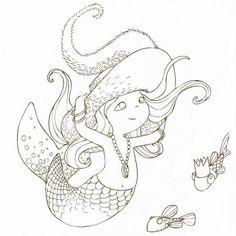 Cahier de coloriage Cap Canaille Louise la Sirène - 80 pages - Photo n°3
