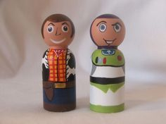Such a cute idea - @Carly Garland remade these painted figurines for the kids she nannies.
