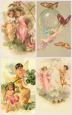 Magic Moonlight Free Images: FAIRY COLLAGE Images for You! Free images for You to use in Your Art!
