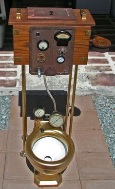 steampunk urinal COOLEST LOO EVER!!!