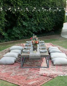 Such a cute garden layout, ideal for a summer party! Read more about my perfect 'Summer Brunch' @ Charlottesweb