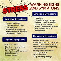 Stress Warning Signs and Symptoms Anxiety Relief, Stress And Anxiety, Chronic Stress, Teen Stress, Adrenal Stress, Work Stress, Adrenal Fatigue, Stress Management Activities, Signs Of Stress