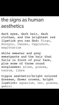 lol my two best friends are Aquarius and Taurus and I'm a Capricorn... we are all three human aesthetics in one friend group.. lol