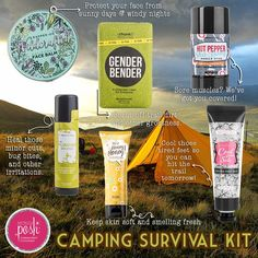 I know we have some campers in this group!  Purifier Skin Stick should be…