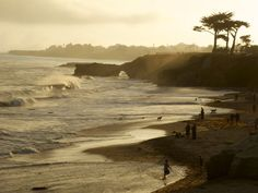 Santa Cruz Sunset 2 by Brigid Parsons, via Flickr