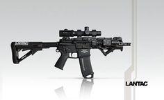 """Lantac Select-fire .300 Blackout 7.5"""" SBR"""