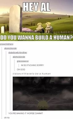 Fullmetal Alchemist || anime funny <-- THIS IS NOT FUNNY HOW COULD IT BE FUNNY (pardon language)