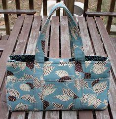 Home Grown Flea Market Fancy Sanibel Bag - with 'Lite' Instructions - PURSES, BAGS, WALLETS