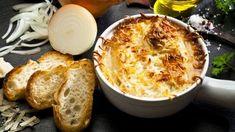 Recette de Carlo : Soupe à l'oignon gratinée au Comté