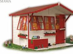 7951f kids playhouse pic3 Kid's Playhouse With Attractive Model