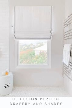 Industrial Window Treatments, Transom Window Treatments, Bathroom Window Coverings, Small Bathroom Window, Bathroom Window Curtains, Window Treatments Living Room, Diy Curtains, Bedroom Curtains With Blinds, Blinds For Windows Living Rooms