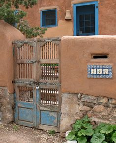 Santa Fe Home by buttermilk sky, via Flickr