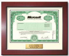 Buy one share of Microsoft stock in 2 minutes for yourself or as a gift.