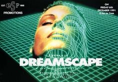 Dreamscape Anniversary Poster Flyer & Ticket Print Pack Old Skool Rave Creative Web Design, Design Web, Flyer Design, Graphic Design, Trance, Web Design Quotes, Design Posters, Type Posters, Film Posters