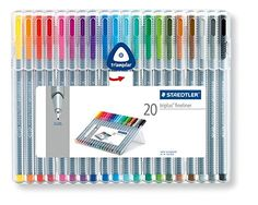 Staedtler Triplus Fineliner 334 SB20 Tips Desktop Box - Assorted Colours (Pack of 20) Staedtler http://www.amazon.co.uk/dp/B0007OEE7E/ref=cm_sw_r_pi_dp_g6K4ub15WT2XK