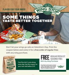 picture about Wingstop Coupons Printable named 19 Least complicated Wingstop Discount coupons pictures inside of 2014 Wingstop