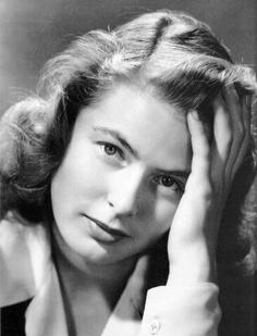 Ingrid Bergman, the perfect Hitchcock woman.