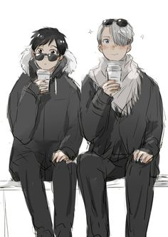 Yuri Katsuki y Viktor Nikiforov//Yuri!!! on ice
