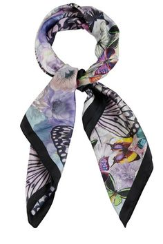 TV Extra Magazine featured this real silk scarf from Oasis. It has a beautiful butterfly print across the fabric.