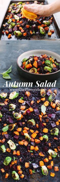 Autumn Salad Recipe | http://CiaoFlorentina.com @CiaoFlorentina