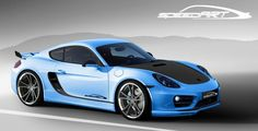 #Porsche Cayman tuned by SpeedART #Geneva13