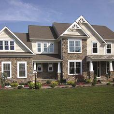 Inspiration - Truexterior Trim #dreamhome #house #exteriordesign