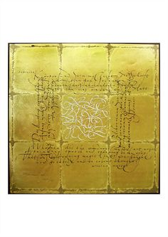 The most beautiful Calligraphy  © Hermann Zapf