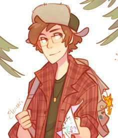 It's older Dipper with the hat and the paper and the POKEMON AND I JSUT CAN'T, I PINTPINSNBPIOTNTPIBIOPDRNTBPIODTNBPIODRNLTIBIPTPBIT