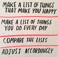 A Simple Recipe for a Happy Life » Ted Kennedy Watson