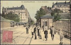 Levallois Perret, Porte de Courcelles