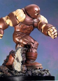 Juggernaut statue - Sculpted by: Shiflett brothers & Randy Bowen