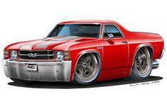 1971 72 Chevy El Camino 454 LS 5 Turbo Fire