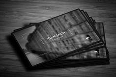Photographer Business Card 02 - Business Cards