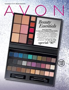 Avon Essentials Campaign 7 The make up collection on the cover is a perfect gift I look forward to this coming out each year.