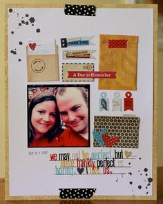 I Like Us_Emily Spahn love how she used the basic grey tiny envelopes from clippings collection.
