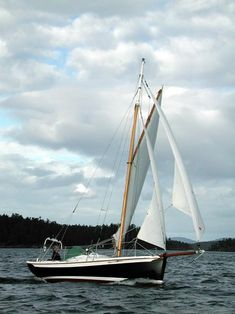 "Gartside Boats - Custom Boatbuilding - 22ft Gaff Cutter ""Surprise"" Design #95"