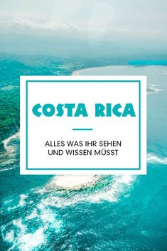 Costa Rica travel tips - everything you need to see and know. Spend the night in the rainforest, watch sloths and bathe in the hot volcanic water. Costa Rica in Central America is so versatile and also a great surf spot. You can find all informatio Costa Rica Reisen, Costa Rica Travel, Hawaii Travel, Europe Travel Tips, Travel Destinations, Road Trip Van, Vacation Ideas, West Coast Usa, Kansas City