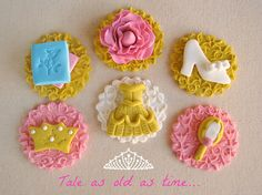 Belle Cupcake Toppers by Lynlee's Petite Cakes, via Flickr