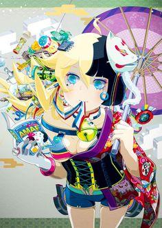 PSYCHEDELIC ILLUSTRATIONS BY HIROYUKI TAKAHASHI